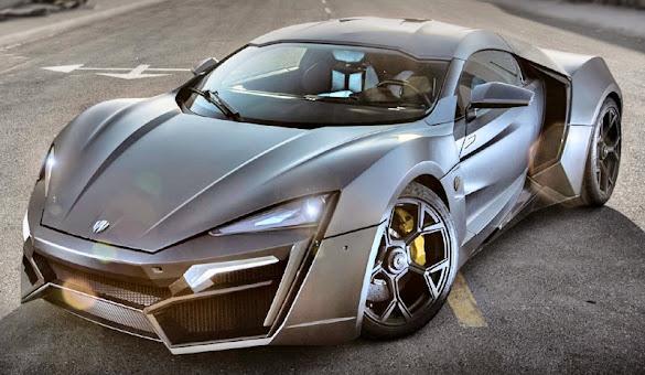 Mobil Sport W Motors Lykan Hypersport Terbaru