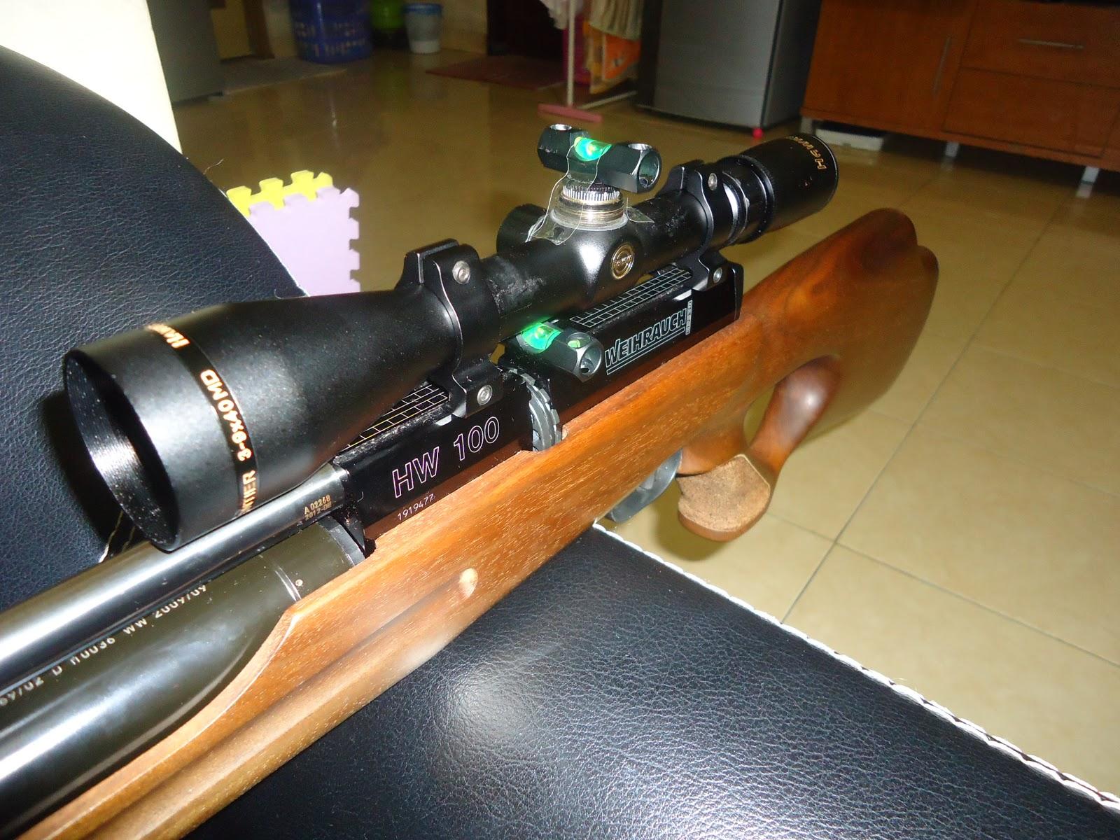 Senapan angin plus : cara pemasangan scope pada senapan