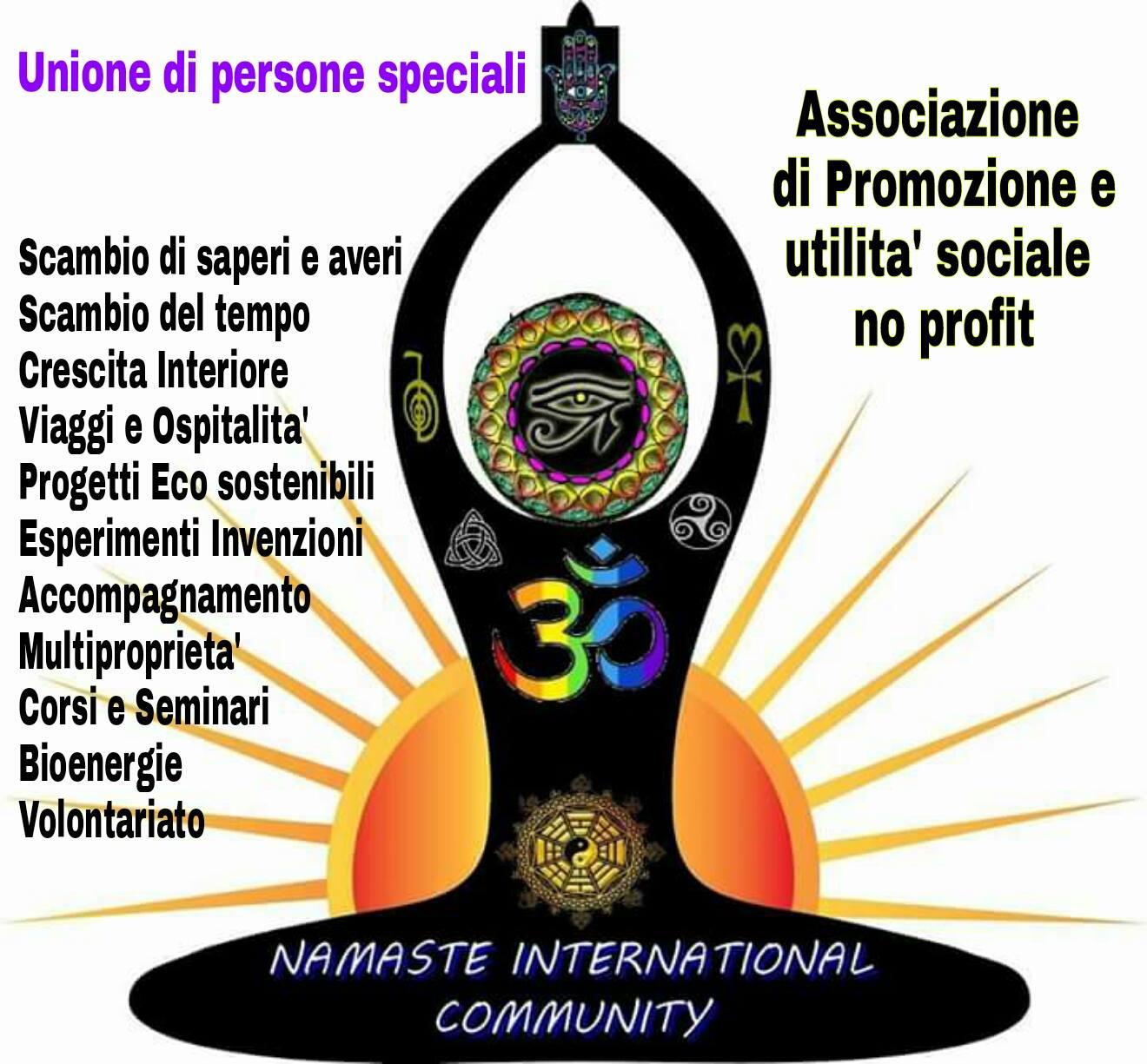 ADESSO SIAMO UN'ASSOCIAZIONE NO PROFIT