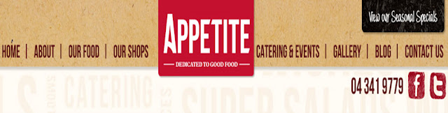 more about the Appetite site