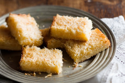 Christmas coconut lemon bars Recipe