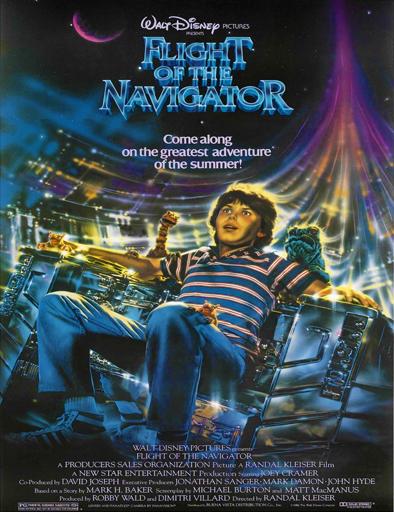 Ver El vuelo del navegante (Flight of the Navigator) (1986) Online