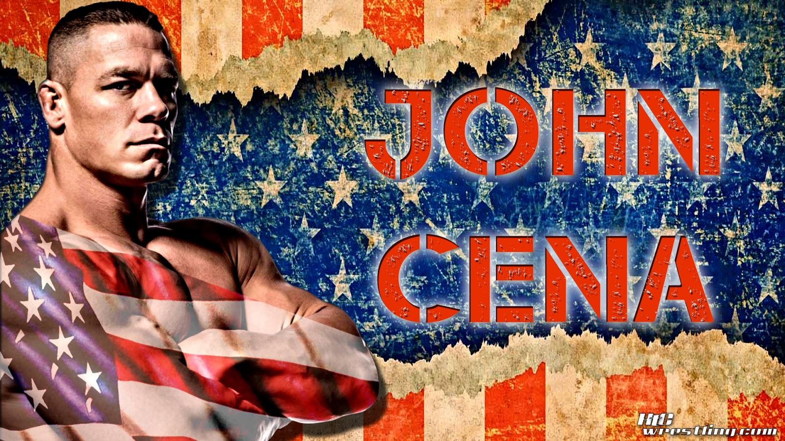 John Cena The Patriotic Champ HD Wallpaper