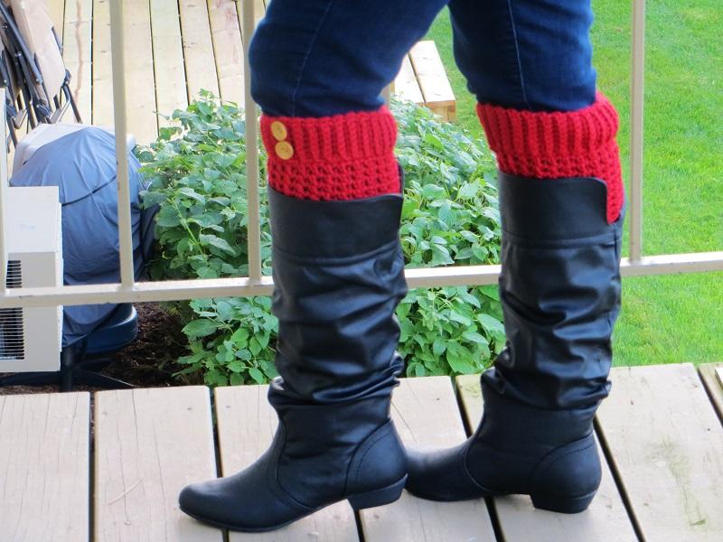 Brooklyn Boot Cuffs Free Crochet Pattern : Crochet Dreamz: Brooklyn Boot Cuffs, Free Crochet Pattern