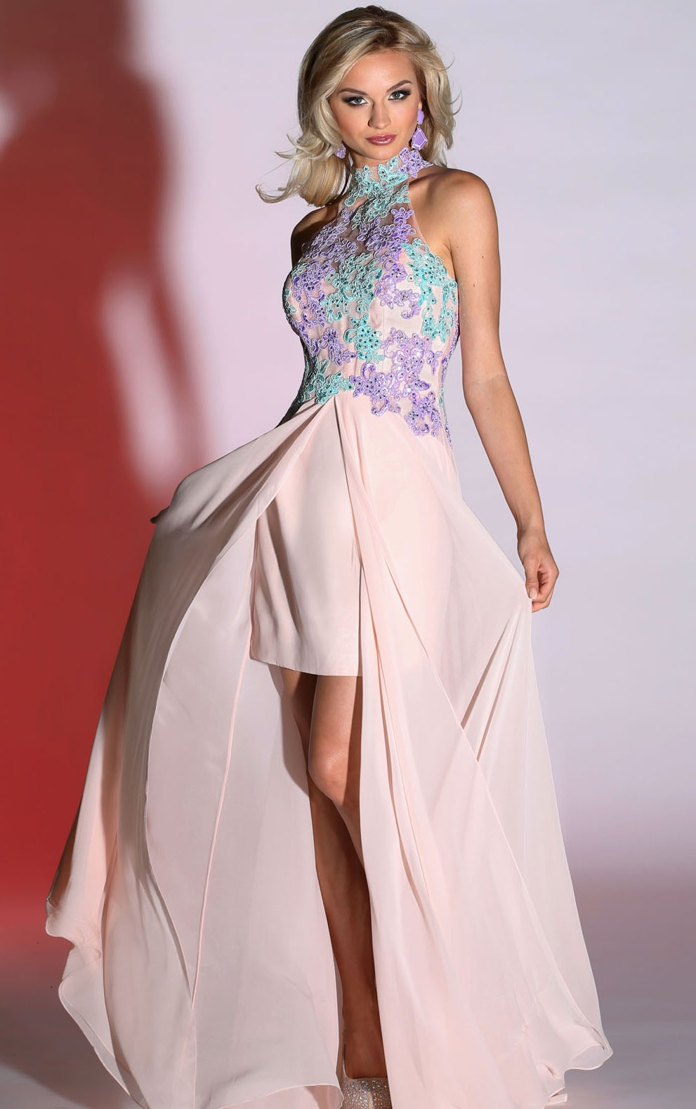 http://www.sherrylondon.co.uk/halter-neck-sleeveless-pink-high-low-chiffon-prom-dress-with-coloful-lace-p-4540.html