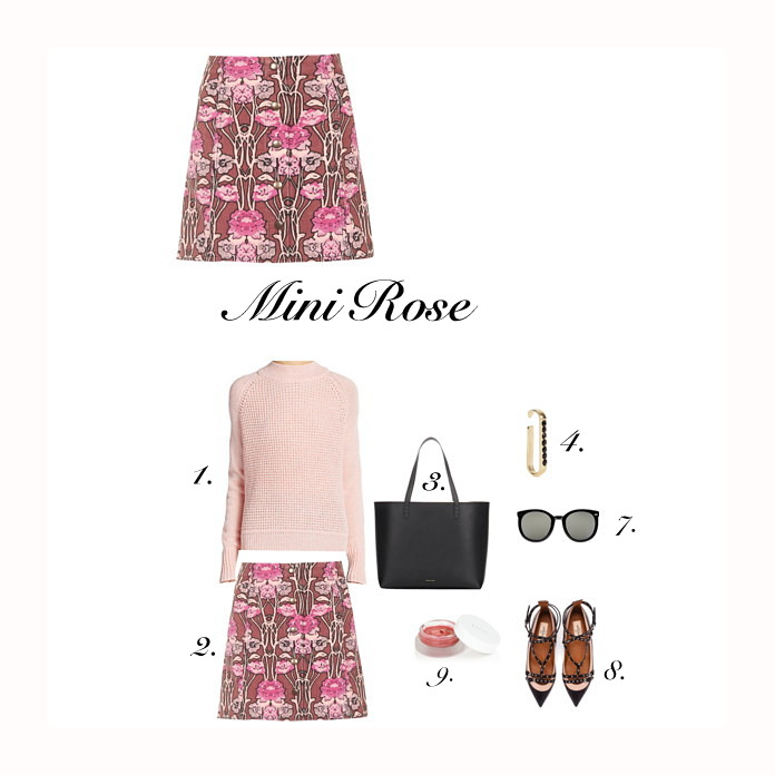 Cute outfits for fall, miniskirt
