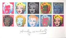 Marilyns by Warhol