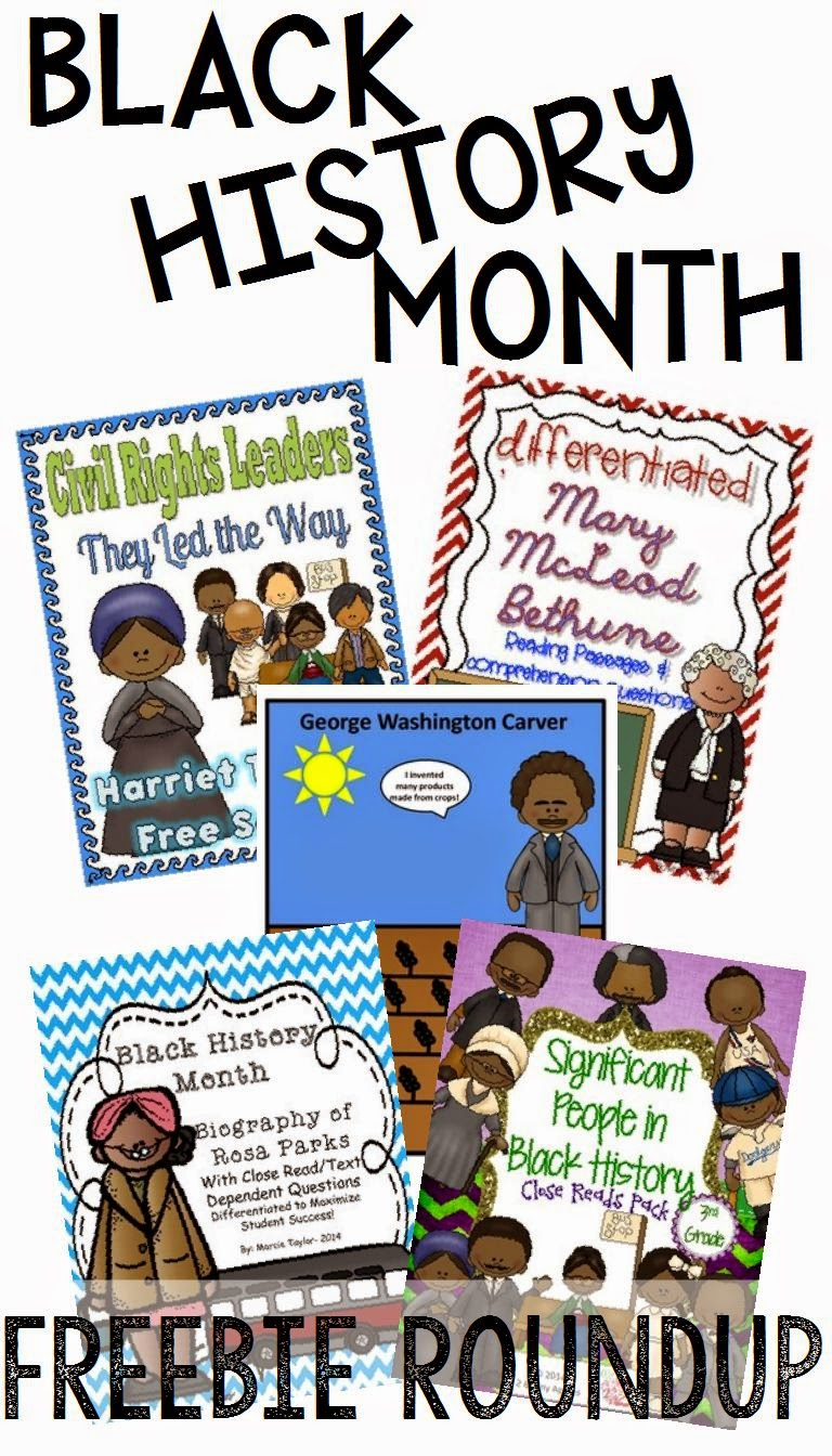 Freebies for black history month