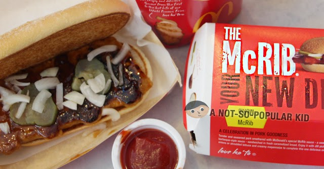 The New McRib of McDonald's now in the Philippines