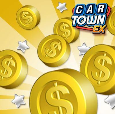 5000 Car Town Coins