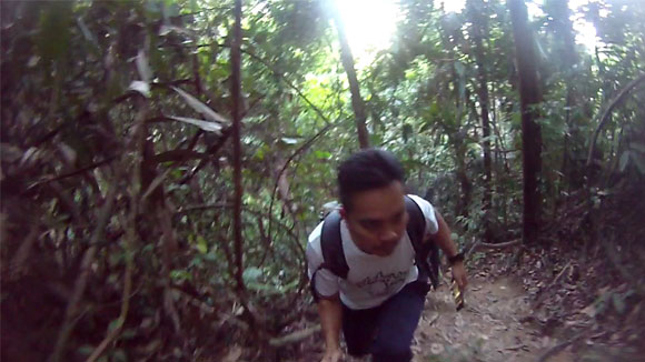 footage sample RD990 video action cam