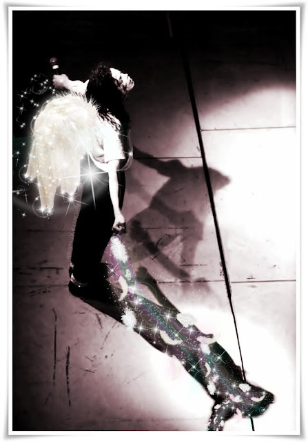 MJ's Wings MIchael Jackson Art