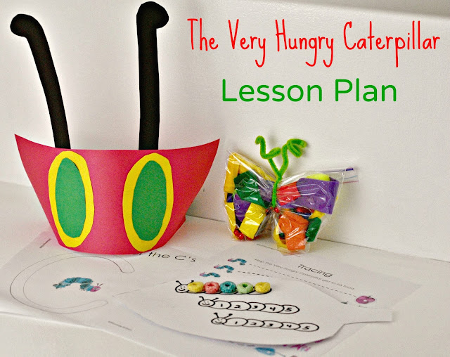 Very Hungry Caterpillar Lesson Plan