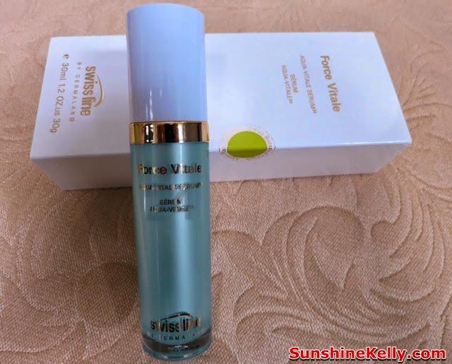 Swiss Line, Force Vitale, Aqua Vitale Serum 24, product Review, skincare, beauty