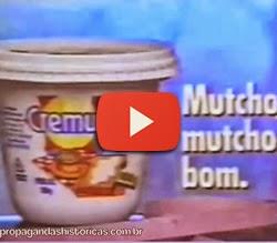 Propaganda do Cremucho, apresentado no Carnaval de 1992.