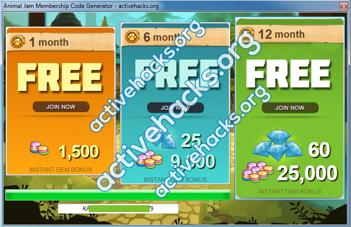 Animal Jam Codes How you can get a FREE Animal Jam Free Membership. Animal Jam Codes - Getting Started: Every player of Animal Jam knows that getting gems and diamonds by playing, is not so cool. With the help of Animal Jam codes, .