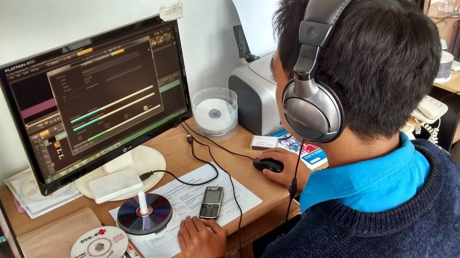 siswa magang multimedia