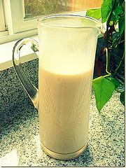 como fazer leite de amêndoas receita