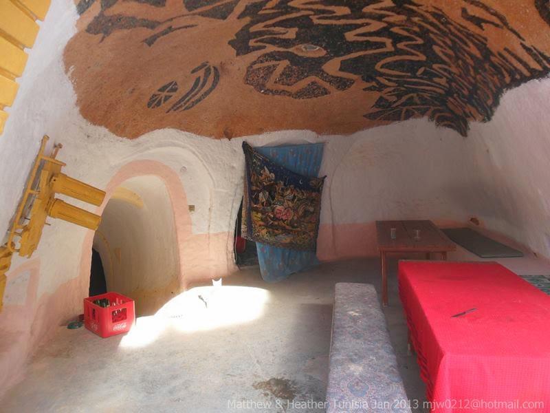 Traditional underground troglodyte house, Matmata