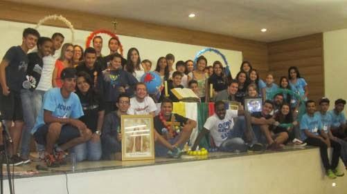 Implantação de mais um grupo de JM na Arquidiocese de Londrina.