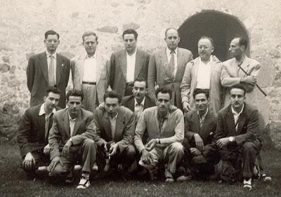 Participantes en el II Torneo Nacional de Ajedrez Ronda de Falgars