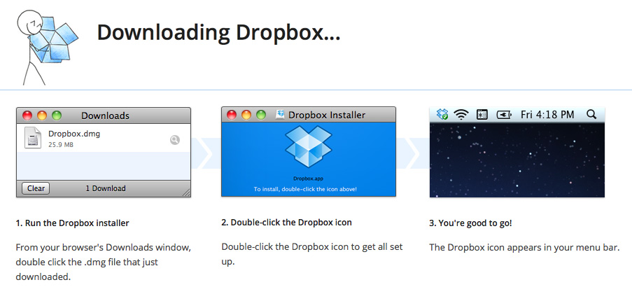 Dropbox download for macbook
