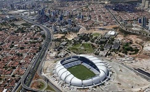 Mundial 2014 estadio Arena São Paulo Brasil