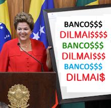 Dilma Rousseff deu muito mais lucro para bancos do que PSDBista FHC