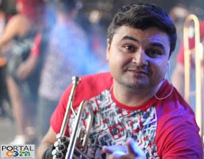 Trompetista Campo-grandense completa 08 anos em uma das maiores bandas do RN
