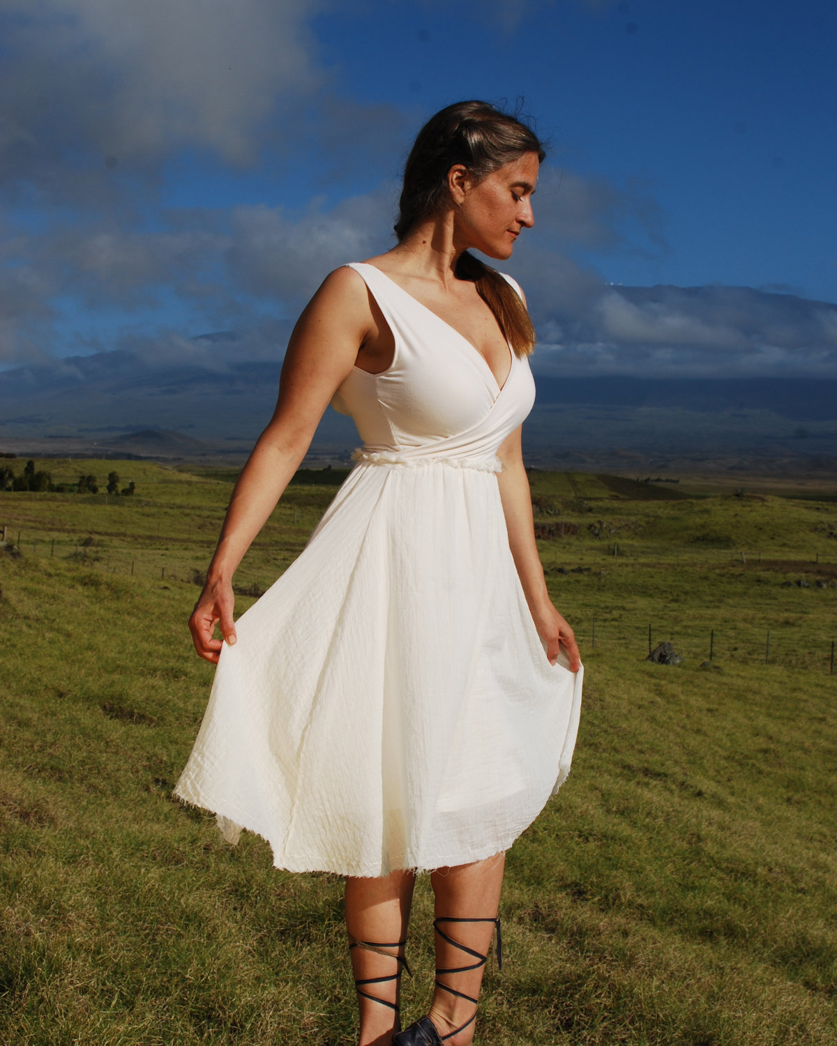 Wedding dresses casual outdoor inexpensive for Wedding dresses for outside