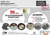 Mode De Vie Kitchenware Promotion