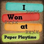 Paper Playtime Oct 2, 2012