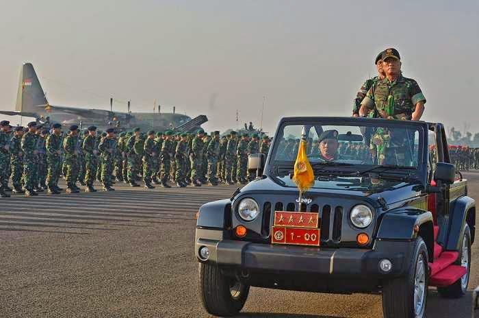 Personel TNI Siaga Penuh Amankan Pilpres 2014
