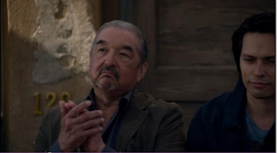 Defiance pilot Graham Greene Rafe McCawley photos screencaps skeptical applause