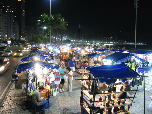 Aparador Bar Decoração ~ Arte Visual Feira Noturna Turística de Copacabana