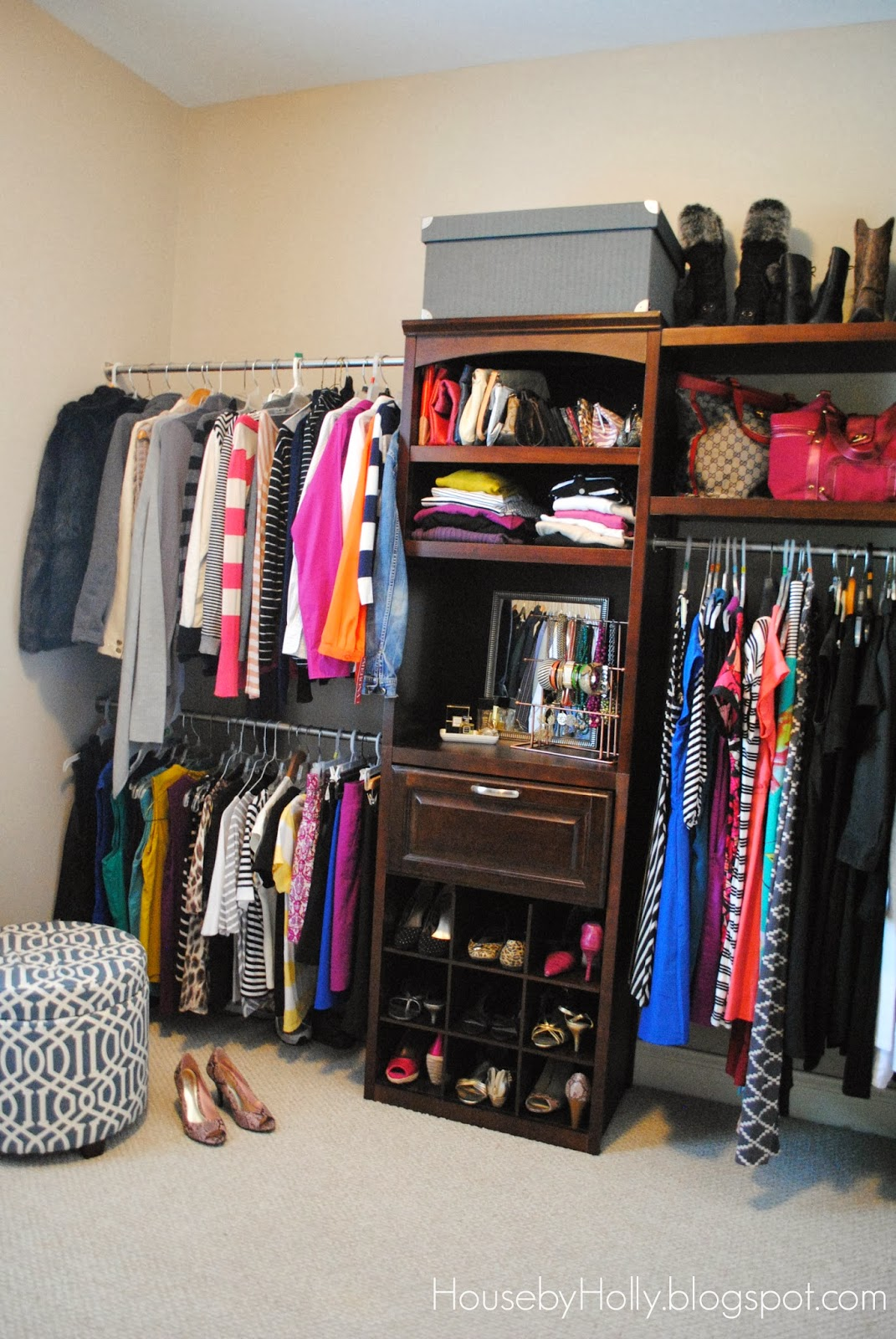 You Can Purchase The Closet System Like This One, Or You Can Buy Individual  Pieces And Build Your Own. We Bought The Complete System And Then Added On  A Few ...