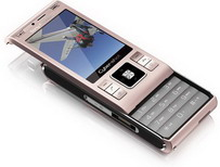Sony Ericsson C905 in Tender Rose