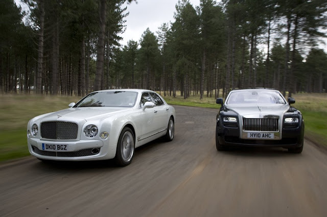 Rolls Royce phantom vs bentley mulsanne