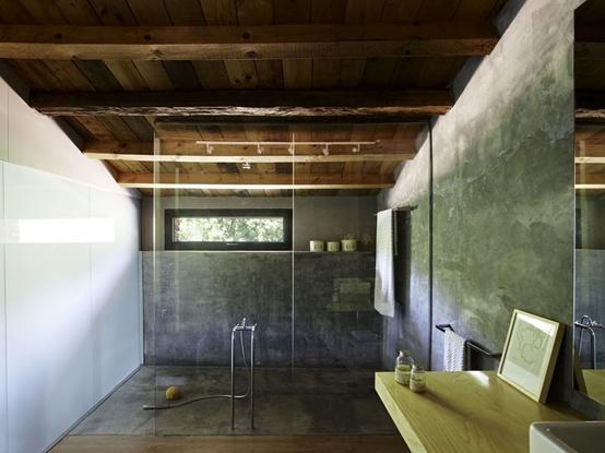 Vintageandlife cemento pulido for Banos de cemento pulido