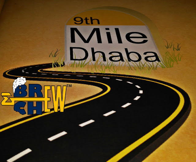 9th Mile Dhaba Logo