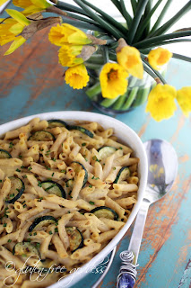 Gluten-Free Goddess  creamy baked penne pasta (gluten-free)