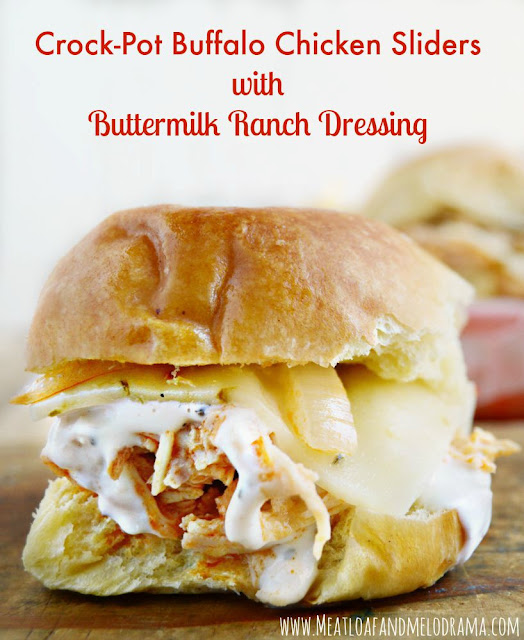 buffalo chicken ranch sliders recipes dishmaps buffalo ranch chicken ...