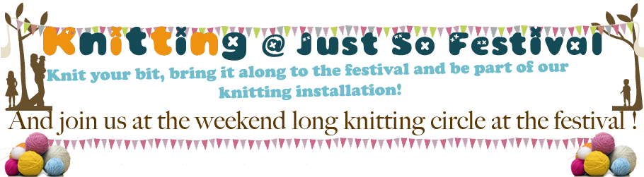 Knitting @   Just So Festival 2011
