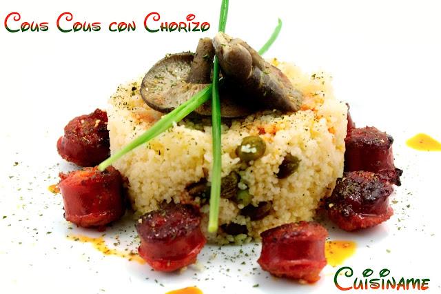 cuscus, cous cous, cus cus, pasta, carne, choricillos, champiñones y setas, recetas originales, recetas caseras, humor
