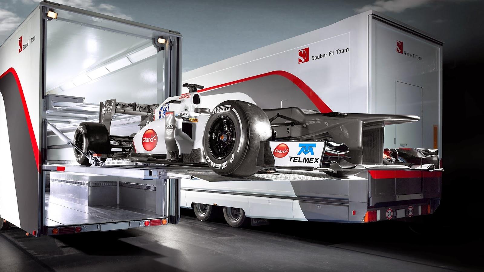 Sauber F1 Team Crew