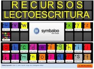 SYMBALOO RECURSOS LECTOESCRITURA
