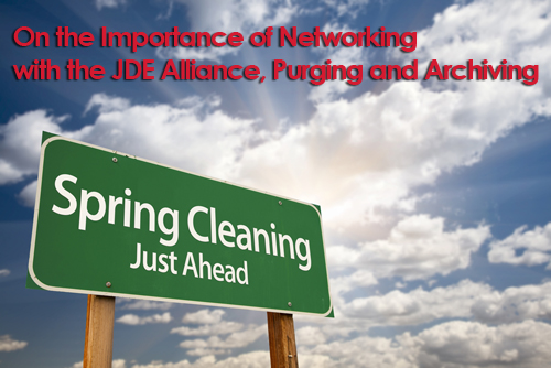 JDE Alliance Archiving Purging