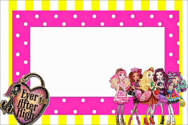 Monster High Free Invitation Template is awesome invitation ideas