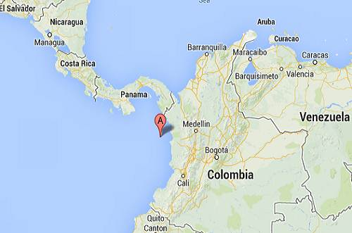 Colombia_Panama_earthquake_epicenter_map