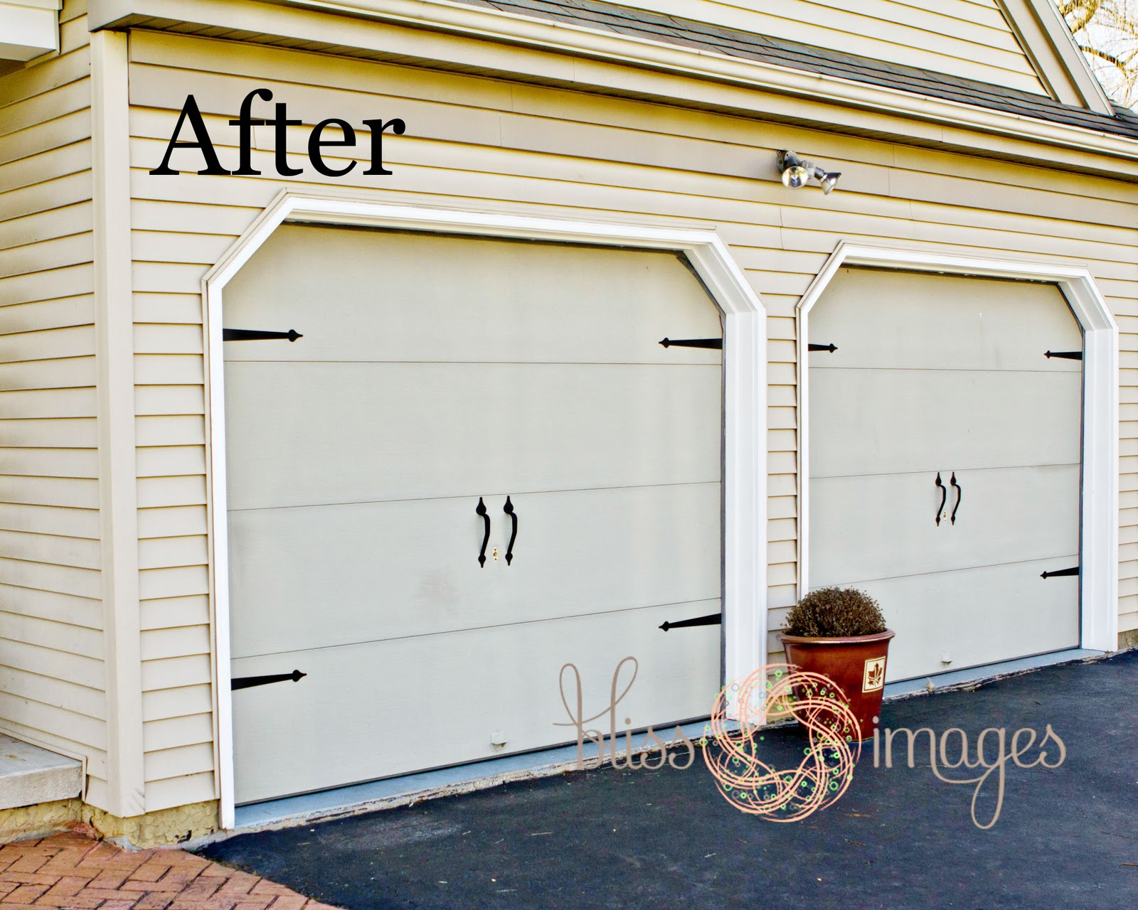 Bliss images and beyond new garage doors seriously loving the transformation rubansaba